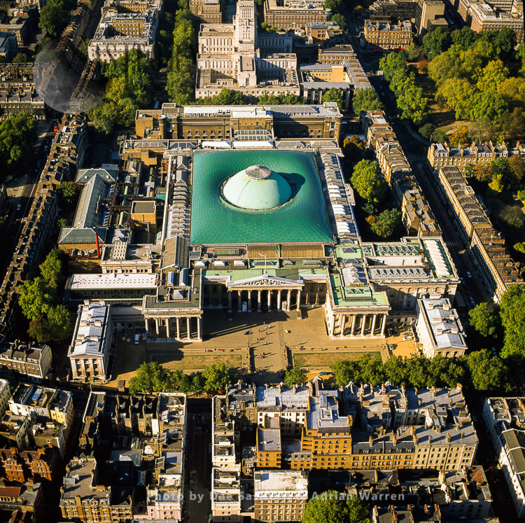 British Museum, In The Bloomsbury Area Of London