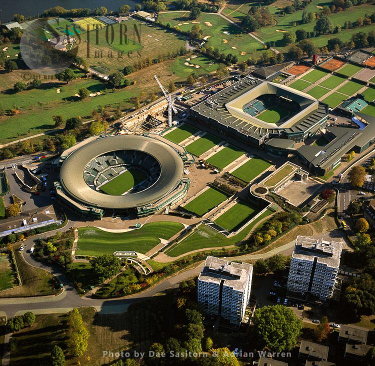 Centre Court And No. 1 Court, All England Lawn Tennis & Croquet Club, Wimbledon