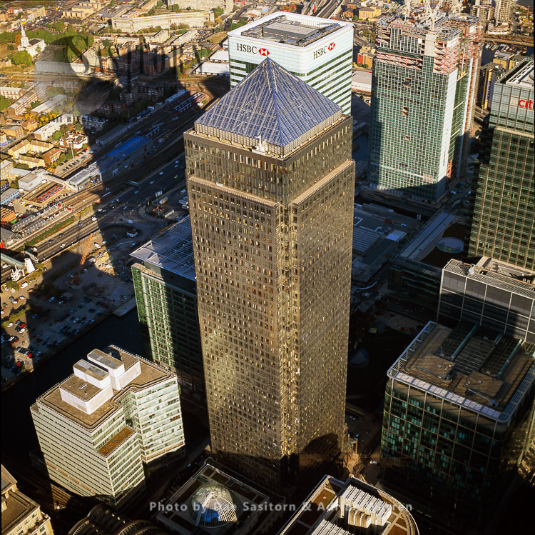 One Canada Square (second Tallest Building In UK), Canary Wharf, London