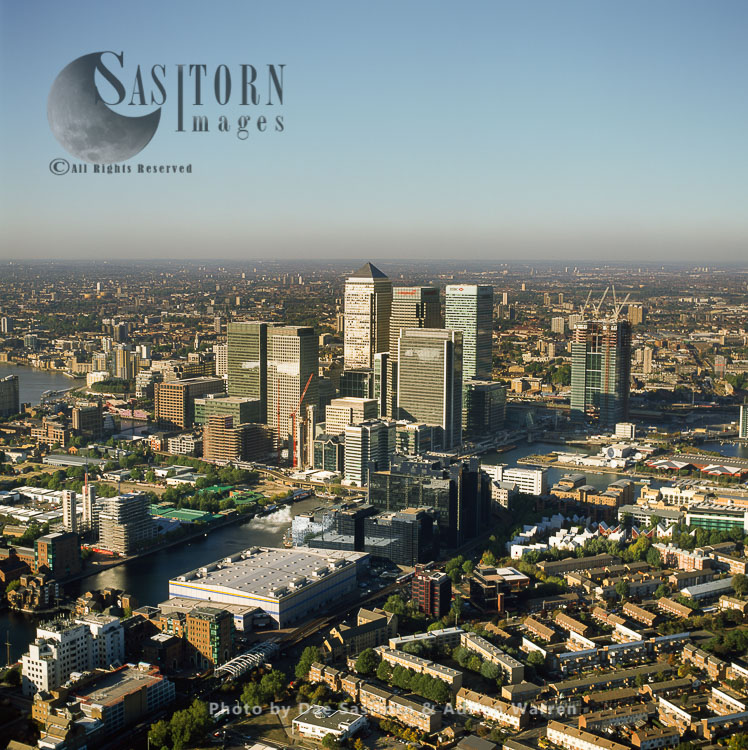 Canary Wharf, Secondary Central Business District Of London On The Isle Of Dogs, London