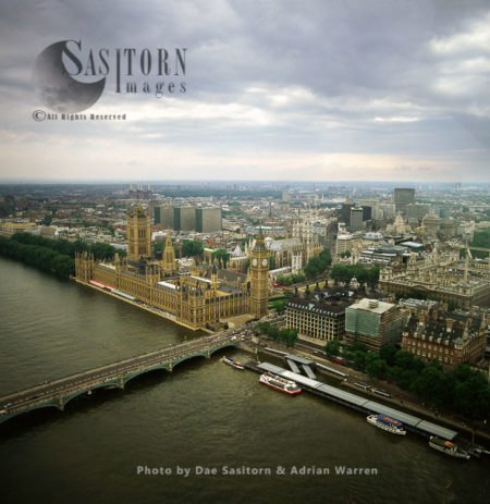 Palace Of Westminster (Houses Of Parliament), Big Ben, And Other Parliamentary Estate Buildings, London