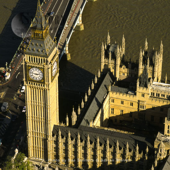 Big Ben And Palace Of Westminster, Westminster Bridge, London, England