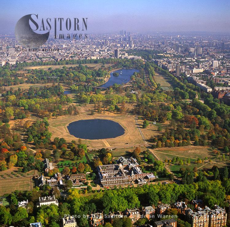 Kensington Palace Is A Royal Residence Set In Kensington Gardens, London