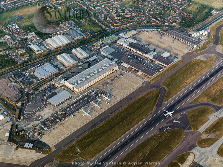 London Heathrow International Airport, Cargo Terminal and Runway