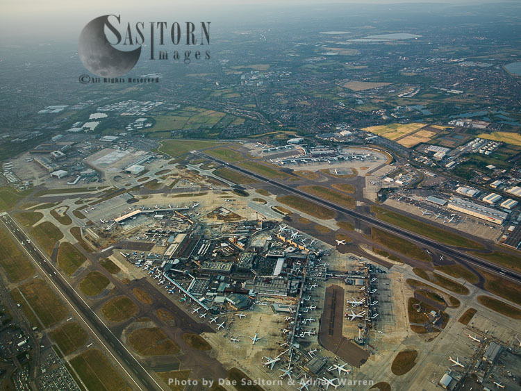 Heathrow Airport Terminal 1,2 And 3, Cargo Terminal And Terminal 4