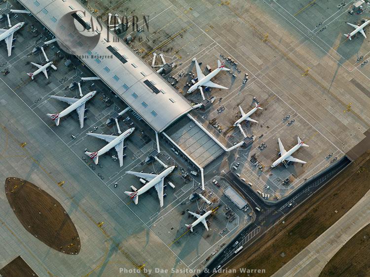Terminal 5, Satellite terminal building 5B, Heathrow Airport