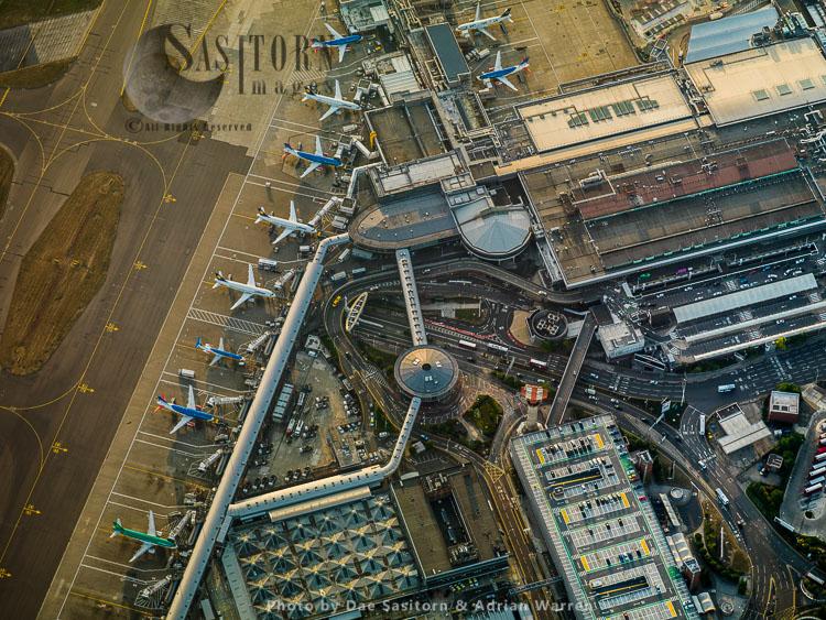 Heathrow International Airport Terminal 1, Hayes, Middlesex
