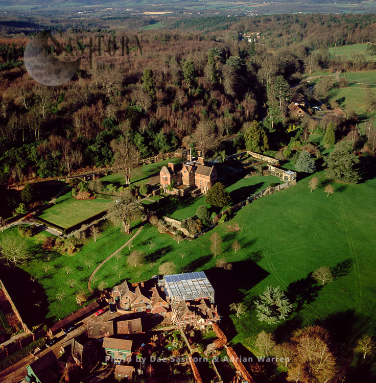 Chartwell, Winston Churchill's Country House Near Westerham, Kent