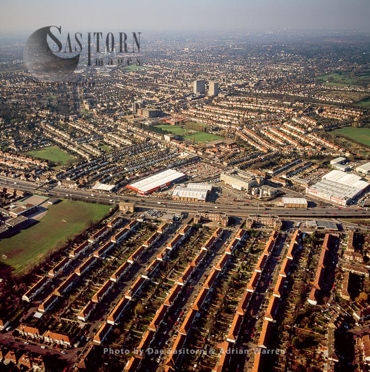 Housing In New Malden, Surrey