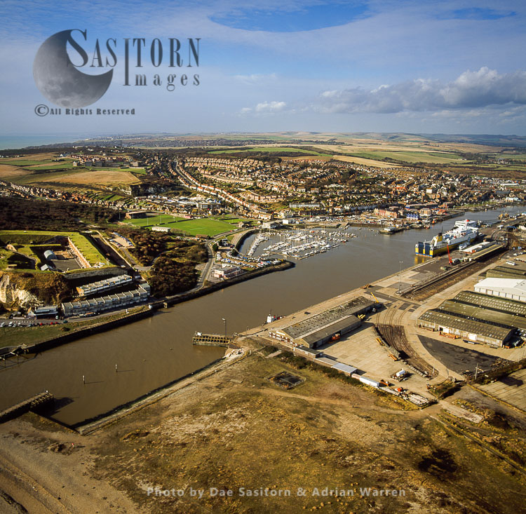 Newhaven, Town And Harbour, East Sussex
