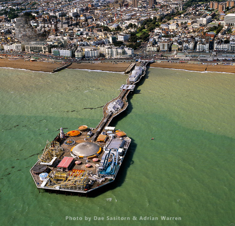 Brighton Palace Pier, East Sussex, England