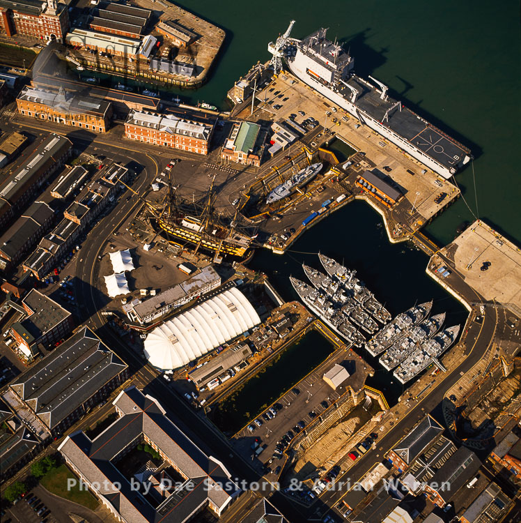 Mary Rose, Historic Dockyards in Portsmouth, Hampshire