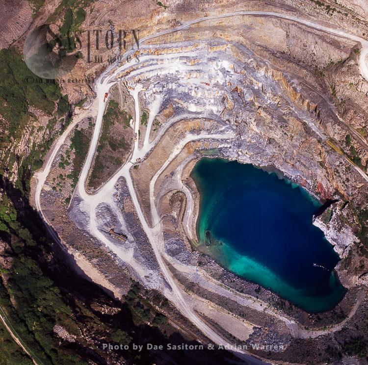 Delabole Slate Quarry, Cornwall