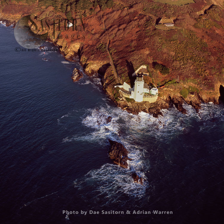St Anthony's Lighthouse, St Anthony Head, Near Falmouth, Cornwall