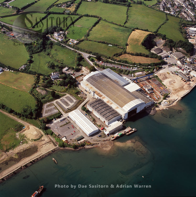 Appledore Shipyard, Devon, England