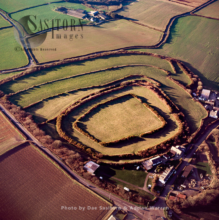 Clovelly Dykes, A Large Iron Age Hill Fort, Devon