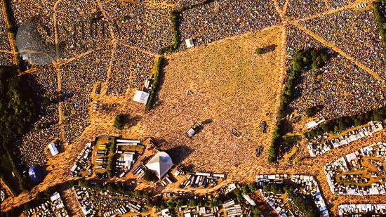 Glastonbury Festival 2003, Pilton, Near Glastonbury, England