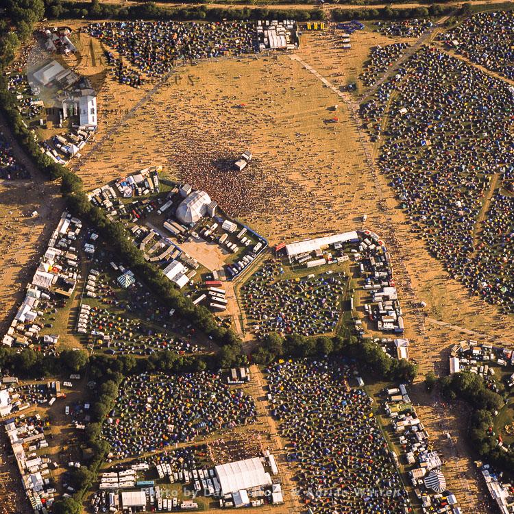 Glastonbury Festival 2003, Pilton, near Glastonbury, England