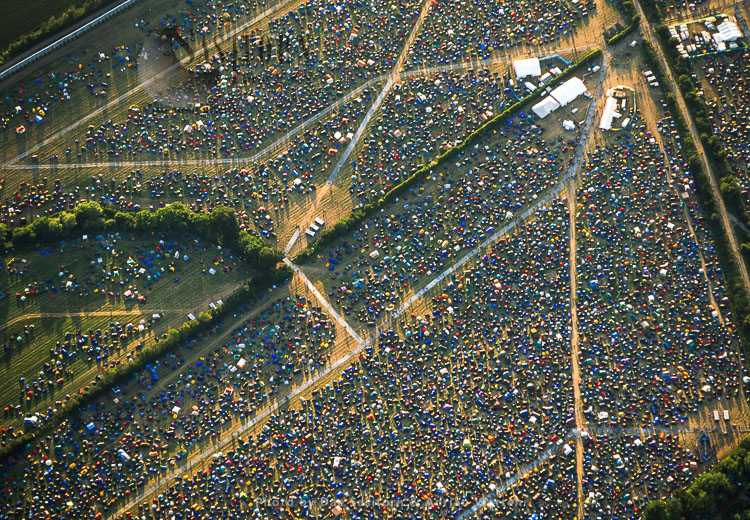 Glastonbury Festival 2002, Pilton, Near Glastonbury, England