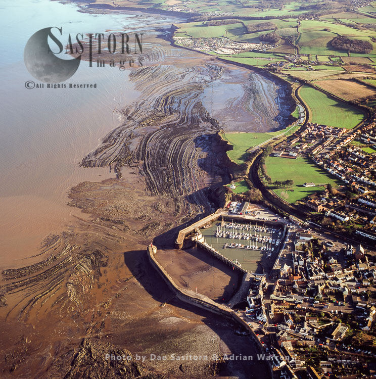 Watchet, Town And Harbour, Somerset