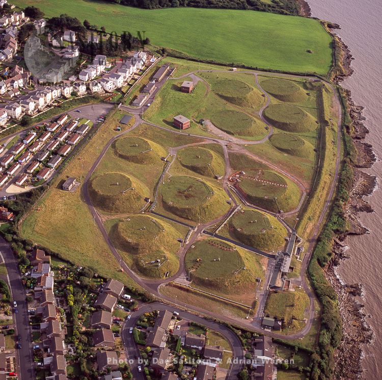 Gun Emplacements,  Battery Point, Portishead, Somerset, England