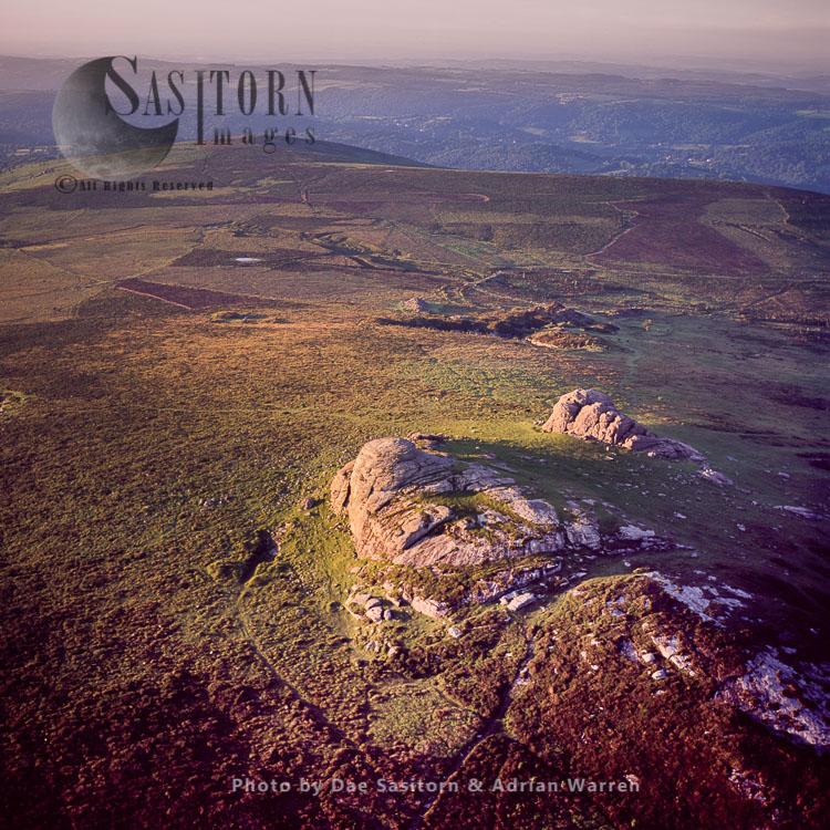 Haytor Rocks, Dartmoor Tor, Dartmoor, Devon, England