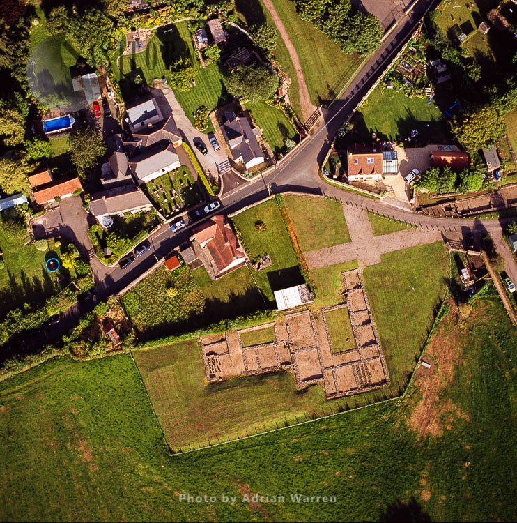 Caerwent, Monmouthshire, South Wales.