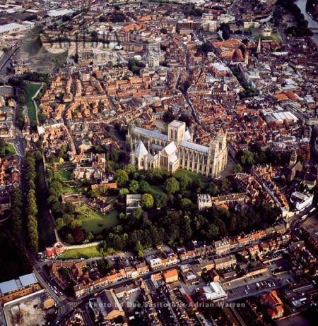 York Minster And The City, Yorkshire, England