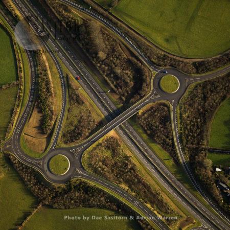 Junction A30/A395 Near Launceston, Cornwall