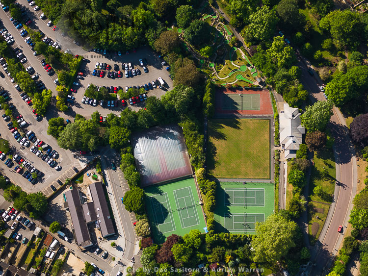 Charlotte Street Car Park And Tennis Courts, City Of Bath, Somerset, England