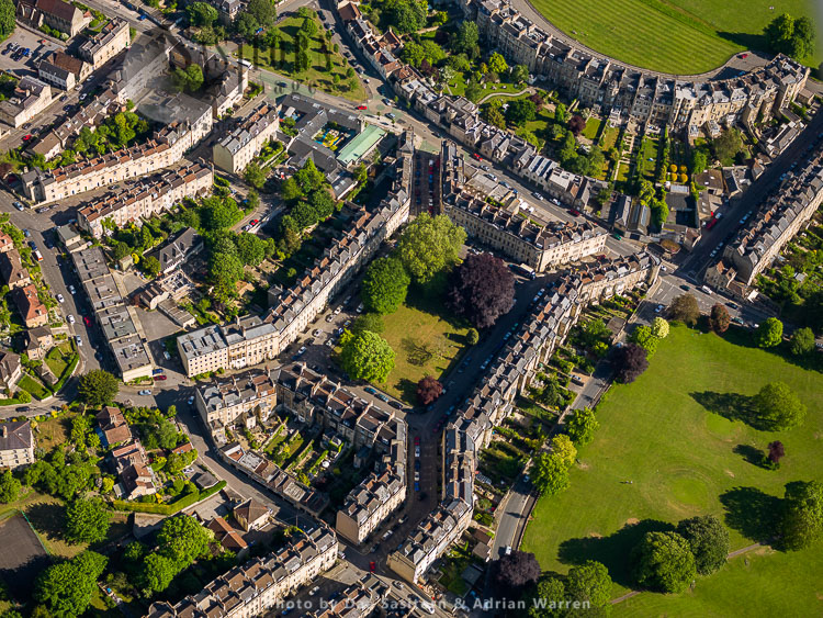 St James's Square, Just North Of The Royal Crescent, City Of Bath, Somerset