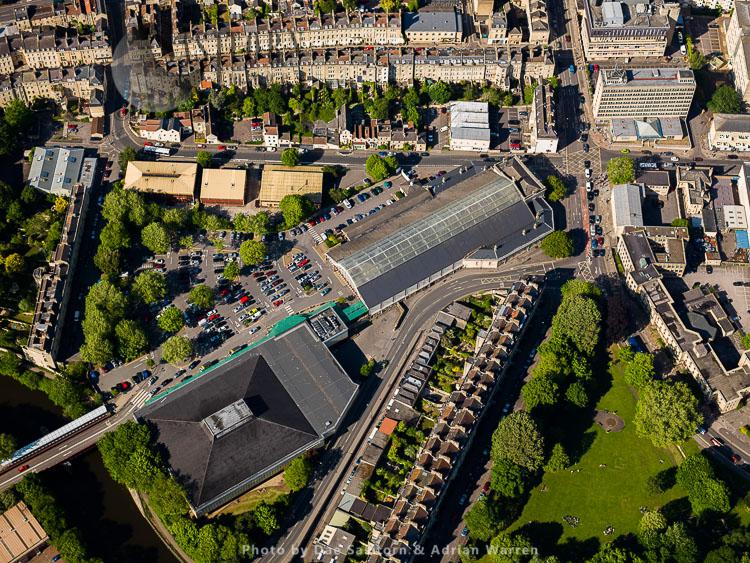 Green Park Railway Station, City Of Bath, Somerset