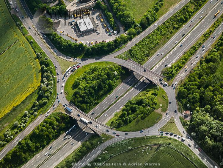 M4/A46 Motorway Junction