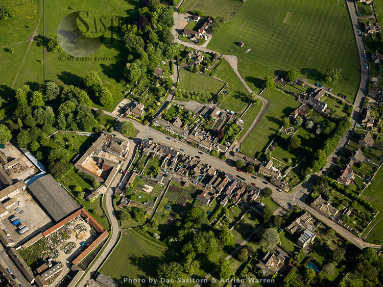 Badminton, A Village In Gloucestershire, England