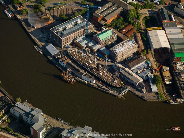 Brunel's SS Great Britain, Great Western Dockyard, Bristol