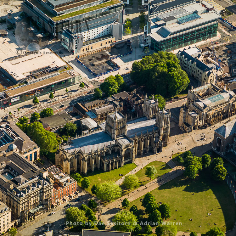 Bristol Cathedral, Bristol, Somerset