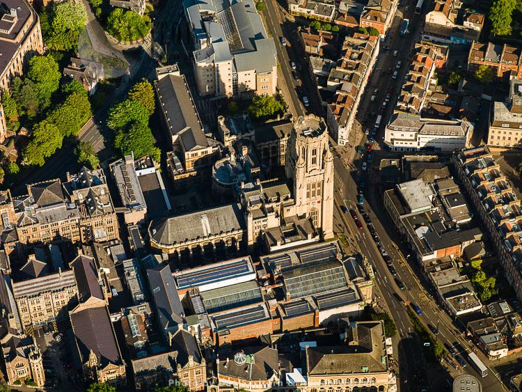 Wills Memorial Building Tower,  Bristol University