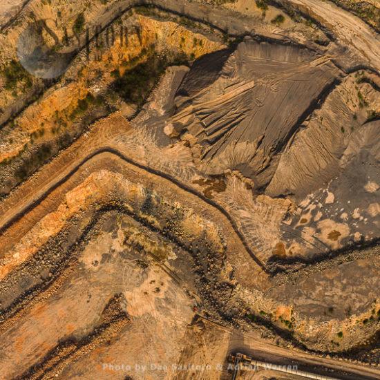Limestone Quarry At Torr Work, Somerset