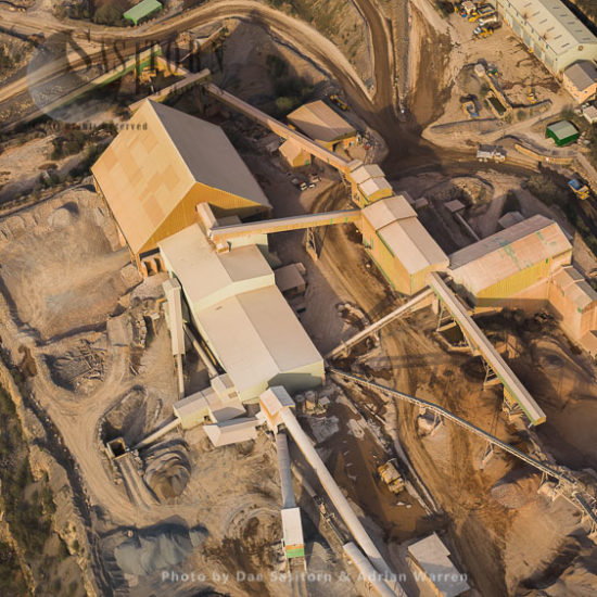 Torr Works Quarry, A Limestone Quarry, East Cranmore, North Of Mendip Hills, Somerset