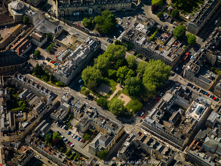 Queen Square, City Of Bath, Somerset