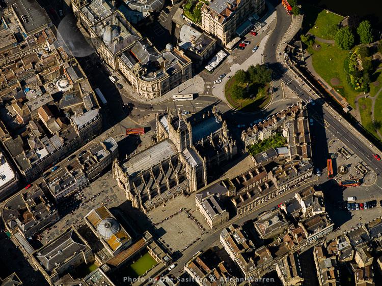 Bath Abbey, Bath, Somerset