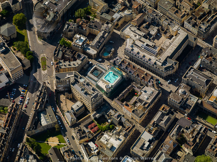 Thermae Bath Spa And James Street, Bath, Somerset