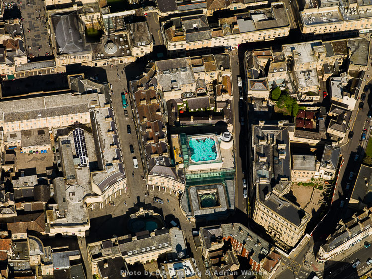 Bath City Centre And Thermae Bath Spa, Bath, Somerset