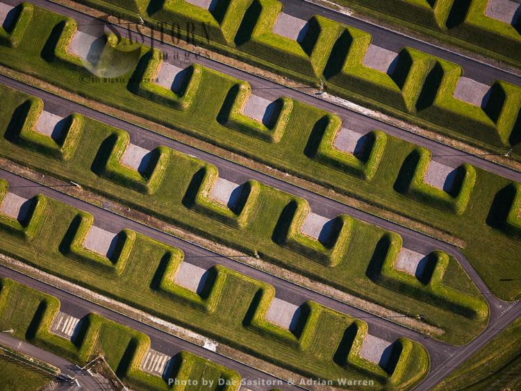 Military Ammunition site near Newbury, Berkshire
