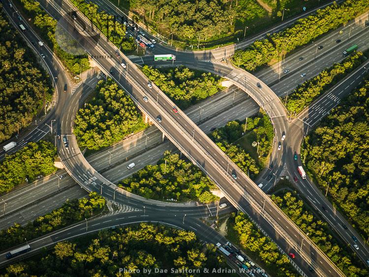 M25/A3 Junction10, Near Cobham, Surrey
