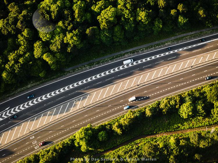 A3 near M25/A3 junction10, near Cobham, Surrey