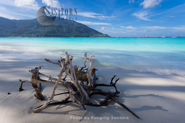 Paradise Island Koh Lipe, Part Of The Tarutao National Marine Park, Satun Thailand.