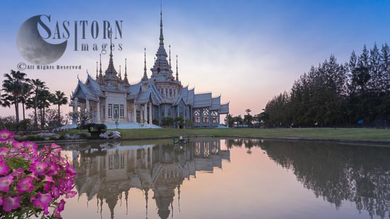 Wat Non Kum Or Wat Luang Phor, Sikhio, Nakhon Ratchasima, Thailand.
