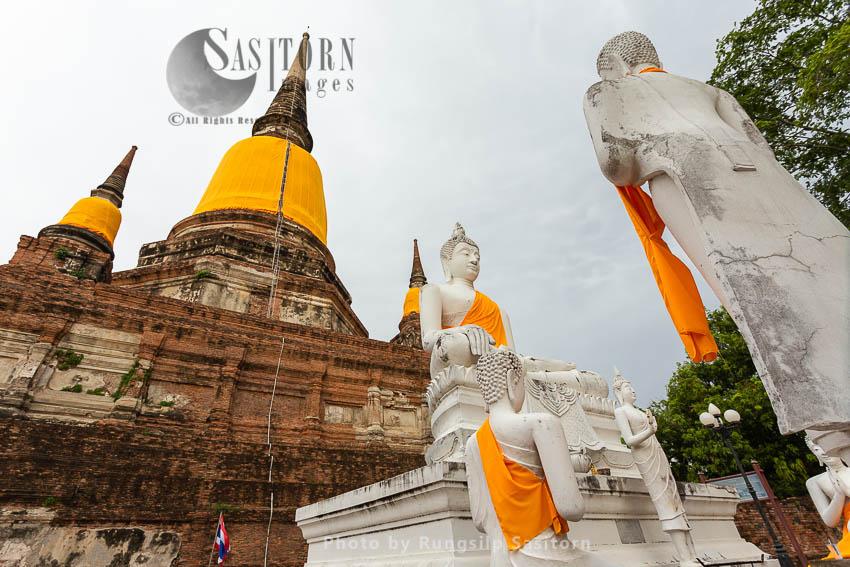 Wat Yai Chai Mongkhon, Ayutthaya, Thailand.
