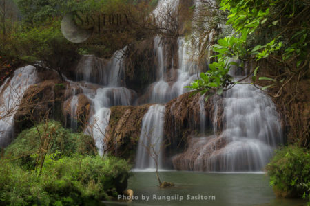 Thi Lo Su Waterfall, The Largest And Highest Waterfall In Thailand, Tak Province, Northwestern Thailand.